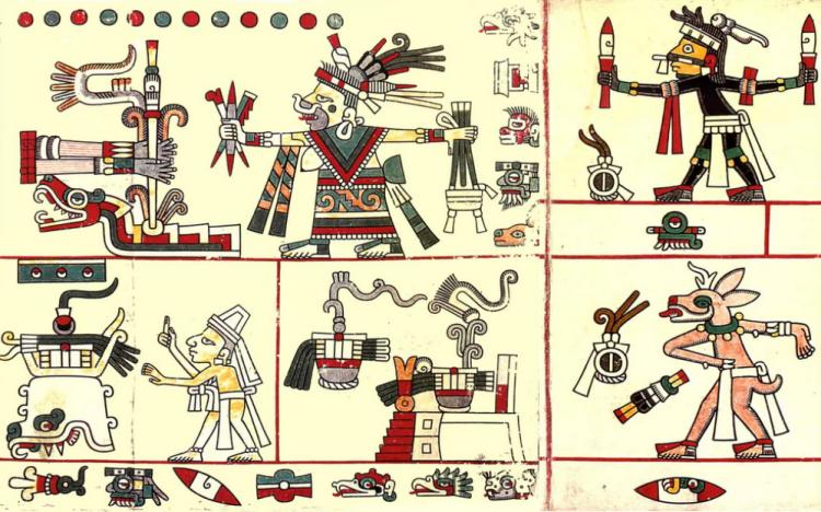 Codex Laud - http://www.famsi.org/research/pohl/jpcodices/laud/img_laud41.html